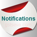GST notifications CGST